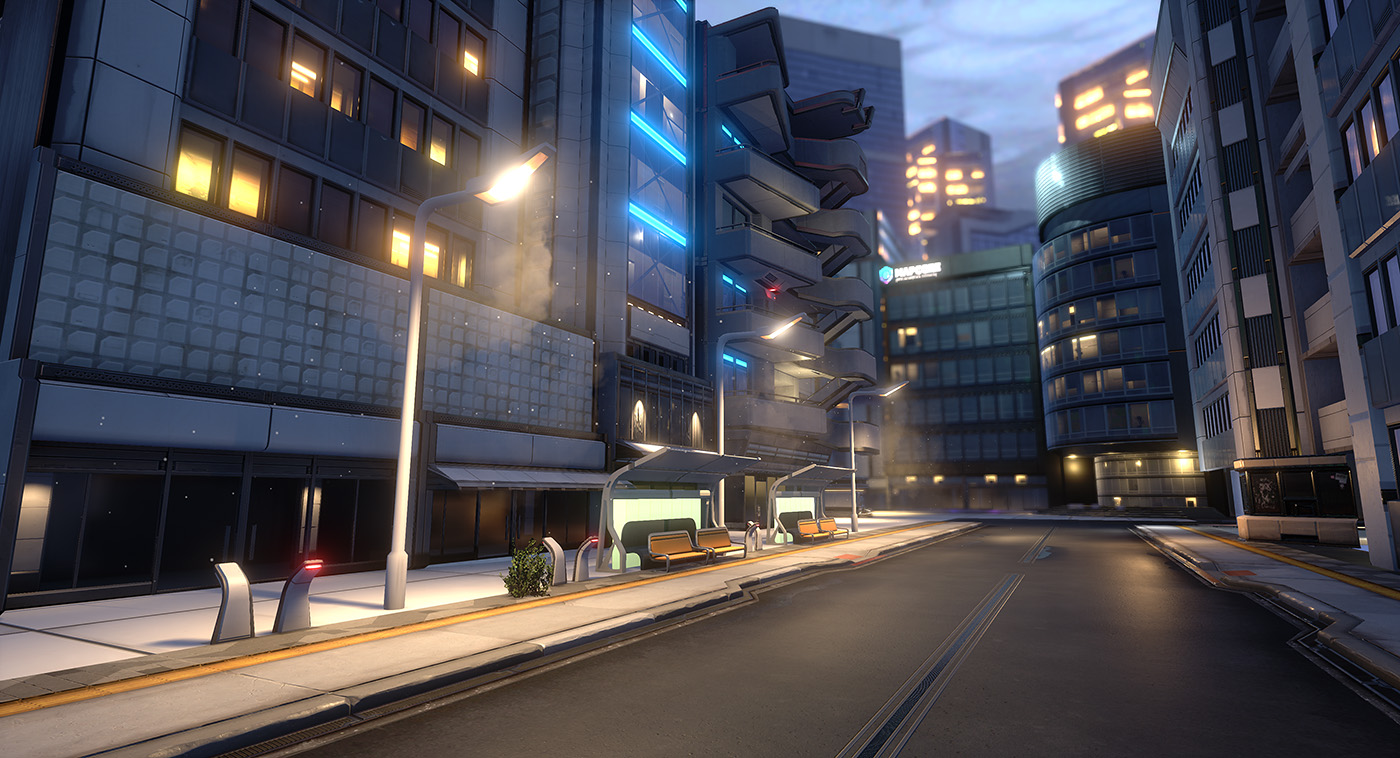 UE4] SAMPA - A near-future sci-fi city — polycount