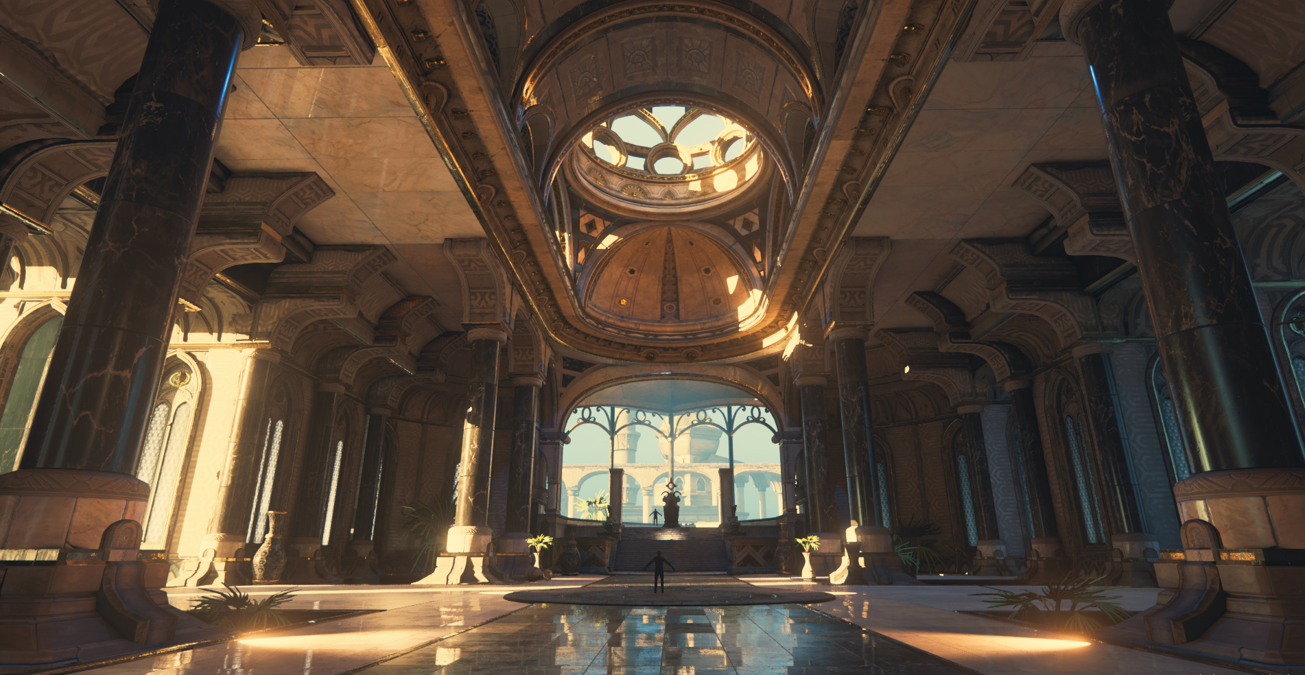 Throne Room The Temple Of Utu Martinh Amp Minos Polycount